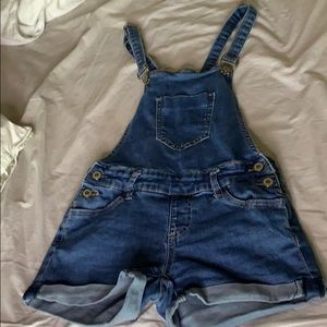 Denim shirts overalls